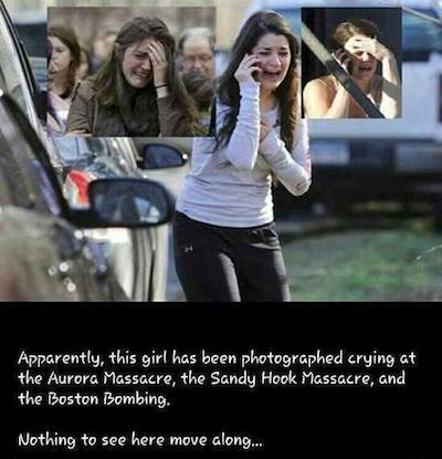 same girl crying