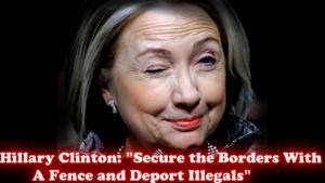 OENN Hillary Fence YT Placard
